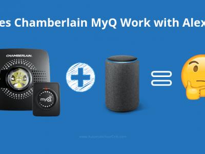 Does Chamberlain MyQ Work With Alexa