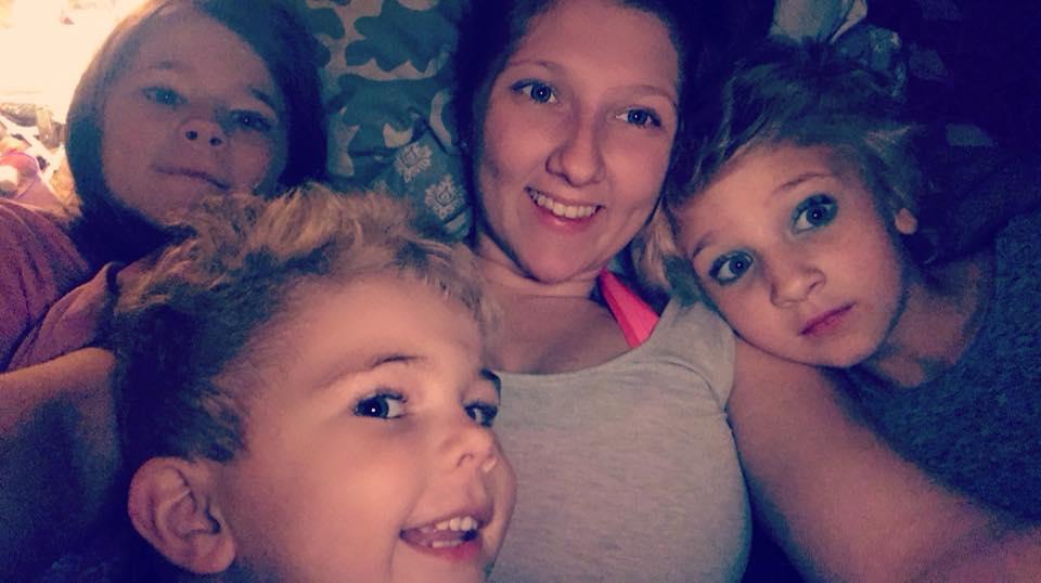 Marjorie Reeves & Her Kids